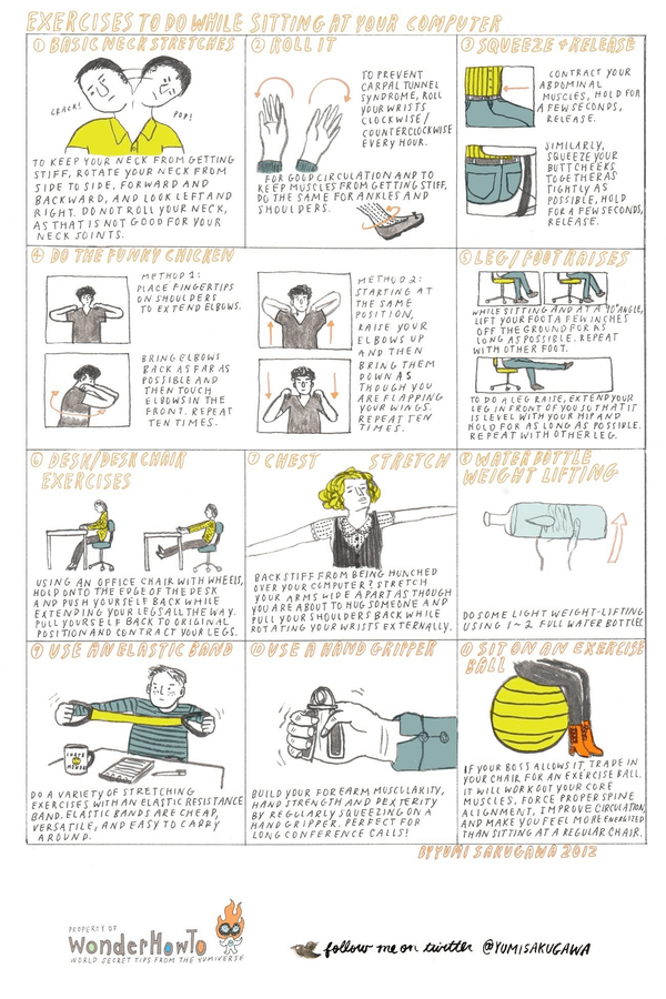 Exercises You Can Do At Your Office