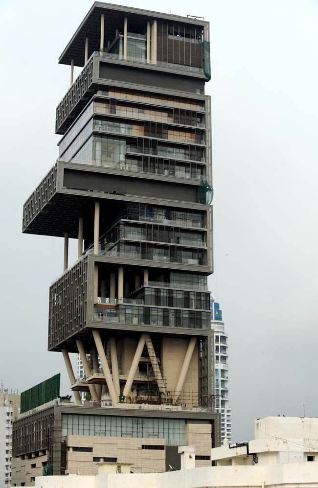 Antilia is the craziest thing which money can buy