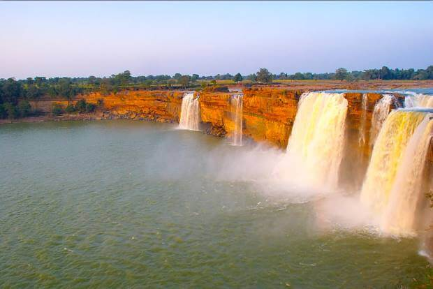 Chitrakoot waterfall Top Destinations for Honeymoon Couples in India