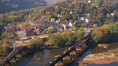 Harper's Ferry, West Virginia – Historic Town of America