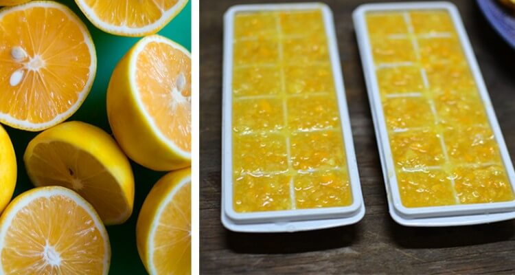 Health Benefits of Frozen Lemon Therapy