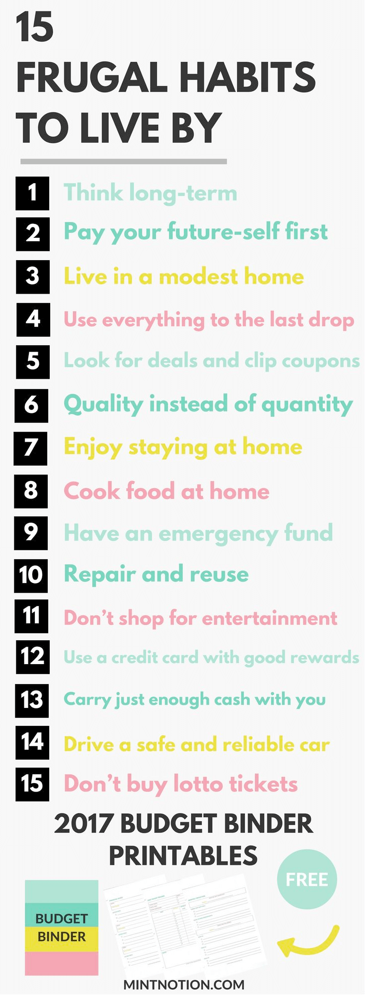 How to Save Money Living a Frugal Life