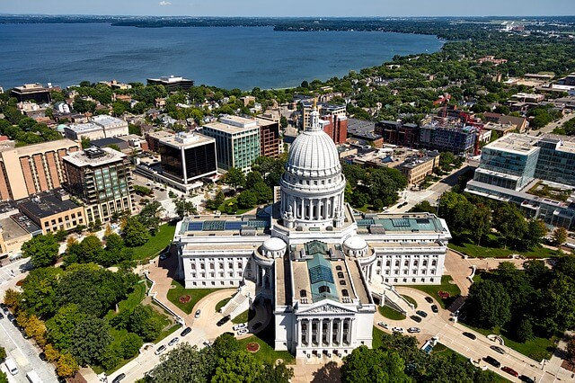 Madison, Wisconsin - Most Beautiful Cities in the USA