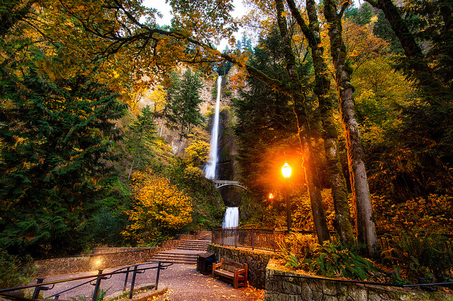 Multnomah Falls, Oregon - Most Amazing Waterfall