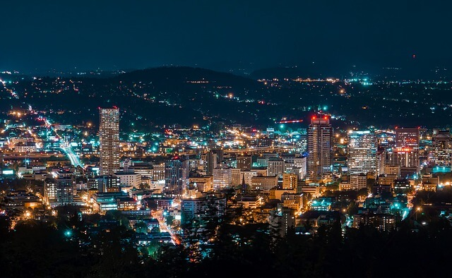 Portland, Oregon - Most Beautiful Cities in the USA