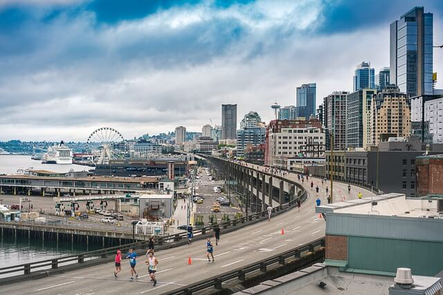 Seattle, Washington - most beautiful cities to live in USA