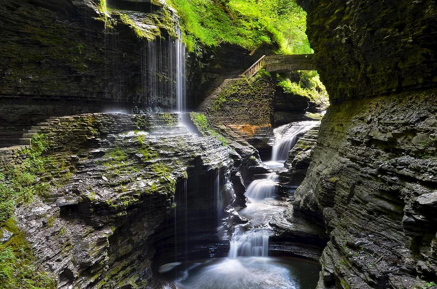 Watkins Glen, New York - Most Spectacular Waterfalls