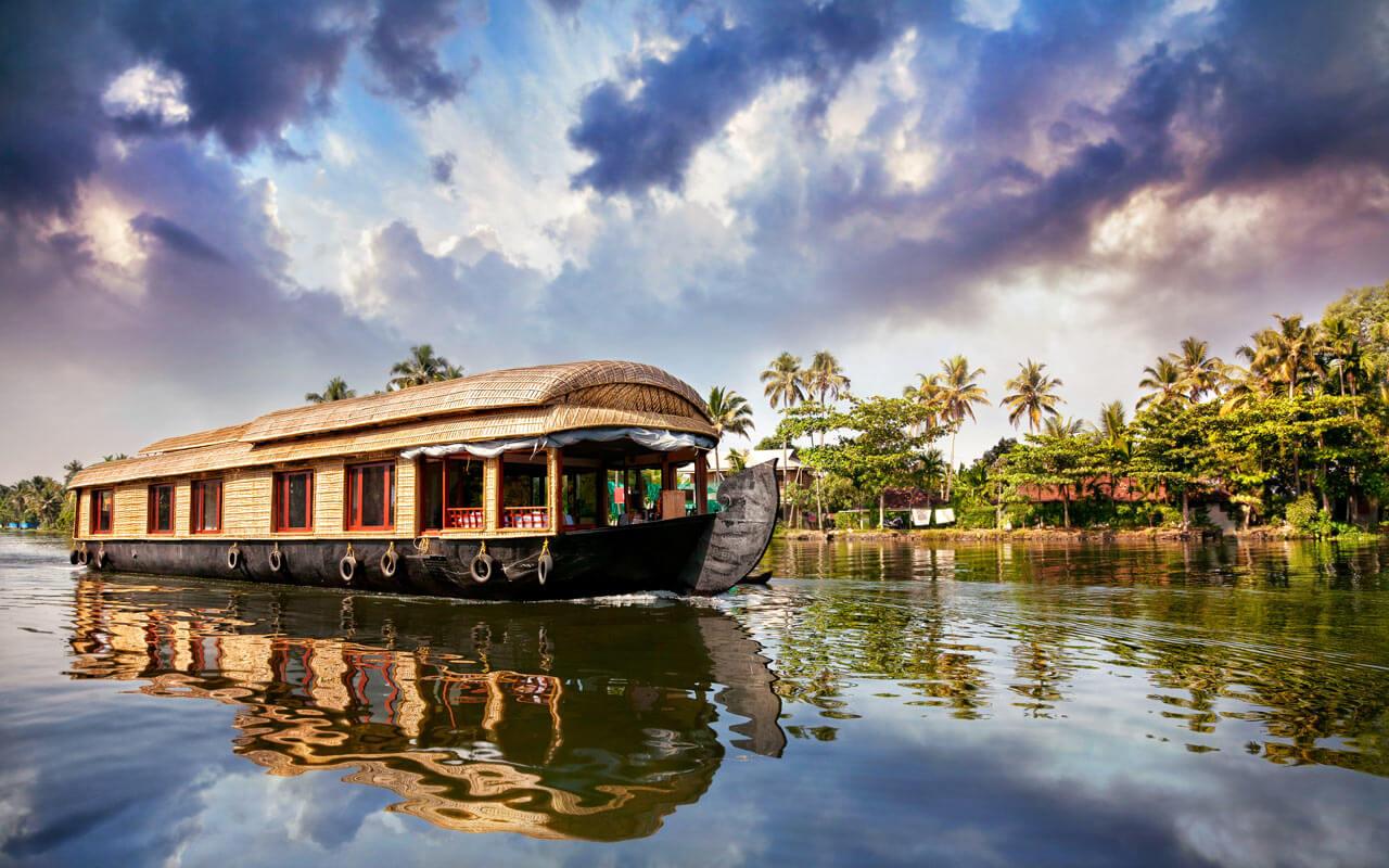 wildlife-in-kerala-backwaters Top Destinations for Honeymoon Couples in India