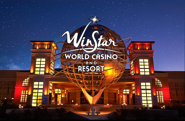 10 Biggest and Best Casinos in USA, Winstar Casino