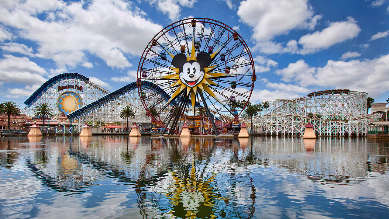 Disneyland, California - best amusement parks in the us