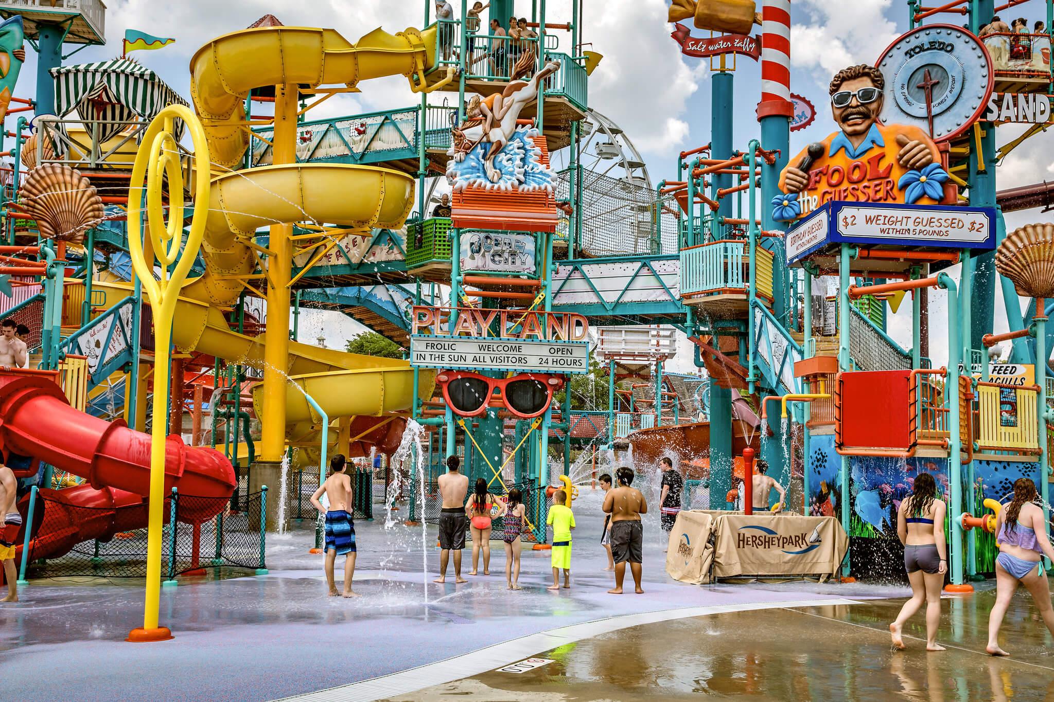 Hersheypark, Pennsylvania - American theme parks