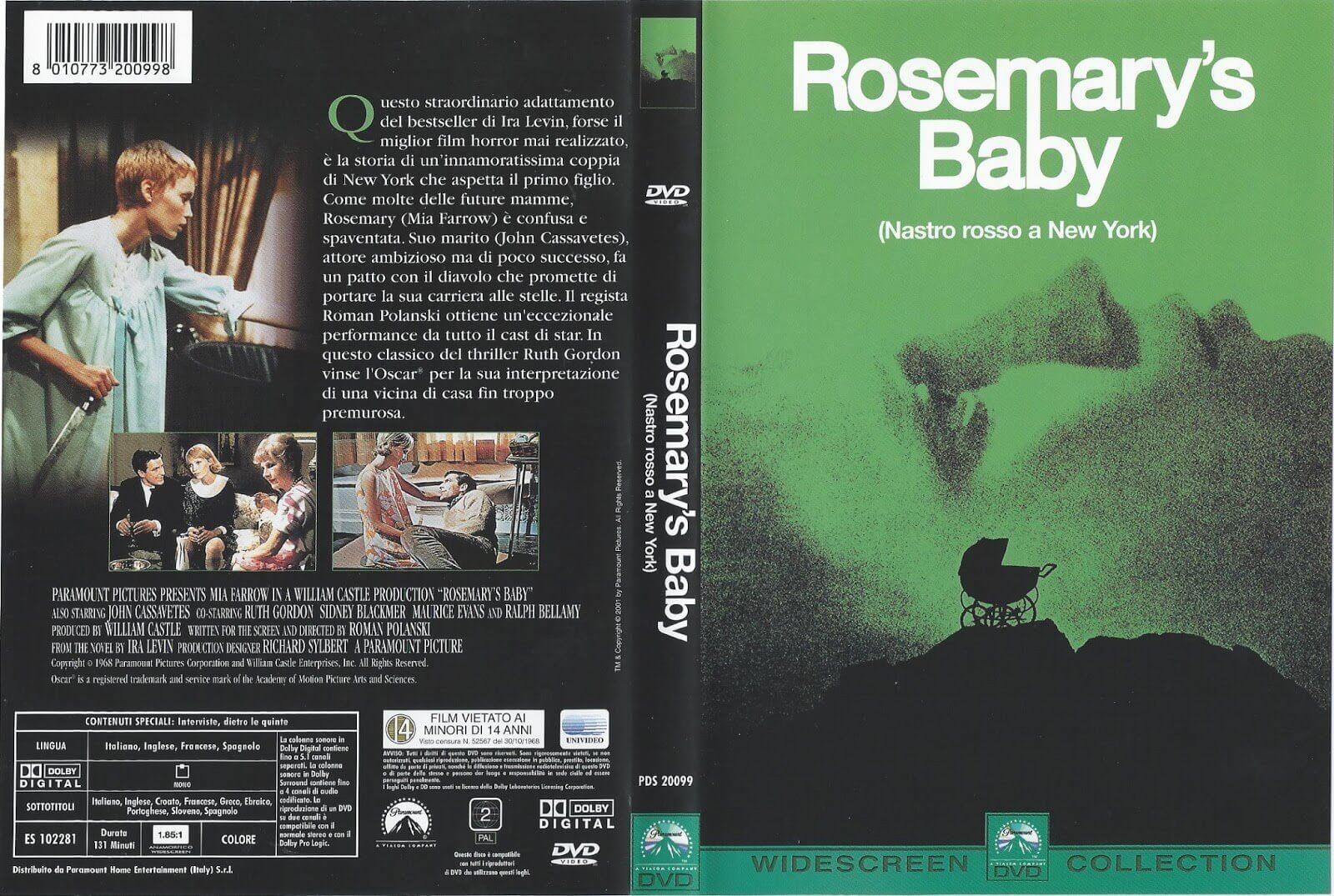 ROSEMARYS BABY - best monster movies