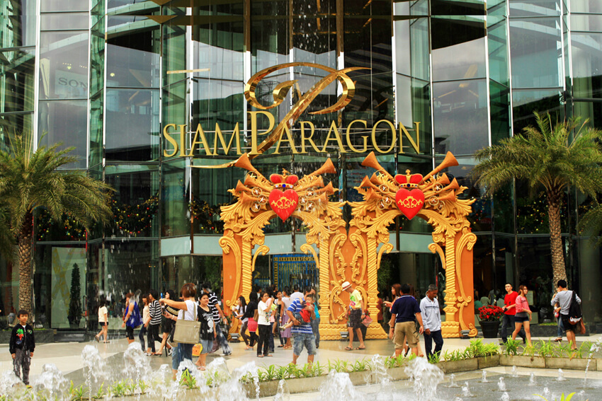 Siam-Paragon-Mall-Top 10 Largest Shopping Malls in the WorldBangkok
