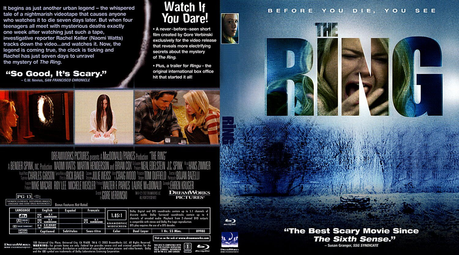 The Ring - The Best Horror Movies of all Time