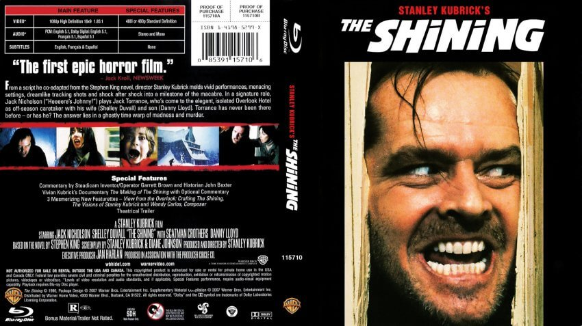 The_Shining - most disturbing movies of all time