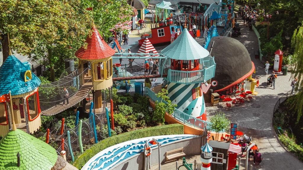 Tivoli Garden, Copenhagen, Denmark - best family theme parks in the world