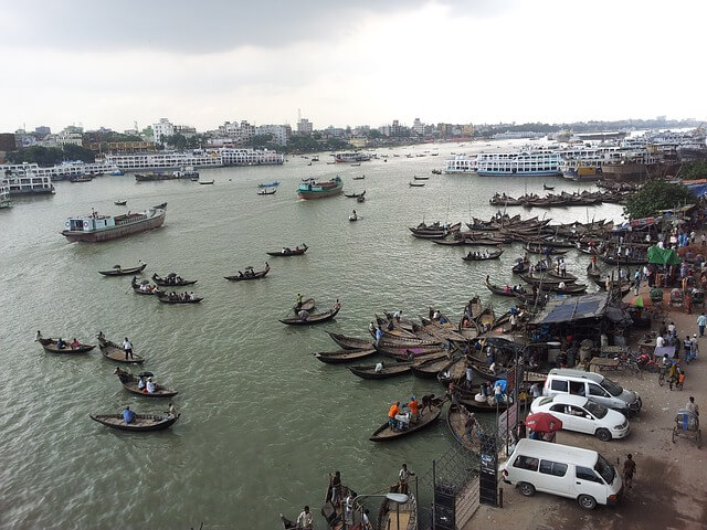Dhaka, Bangladesh most crowded city in the world