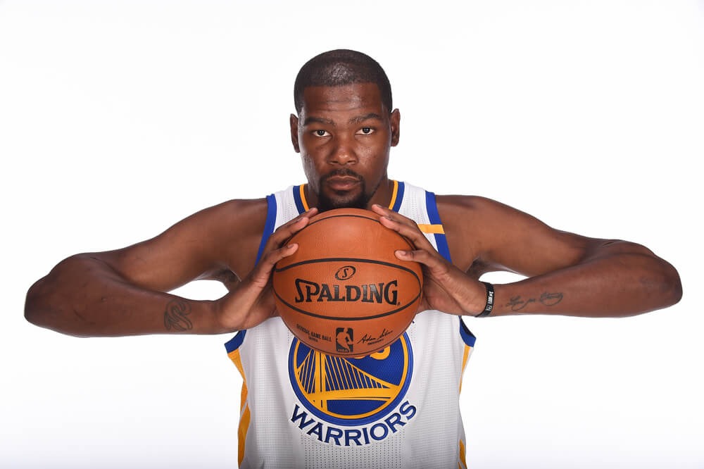 Kevin Durant - highest paid athletes and top sports stars