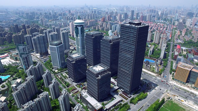 Shanghai, China, 6340 sq. km - whats the biggest city in the world