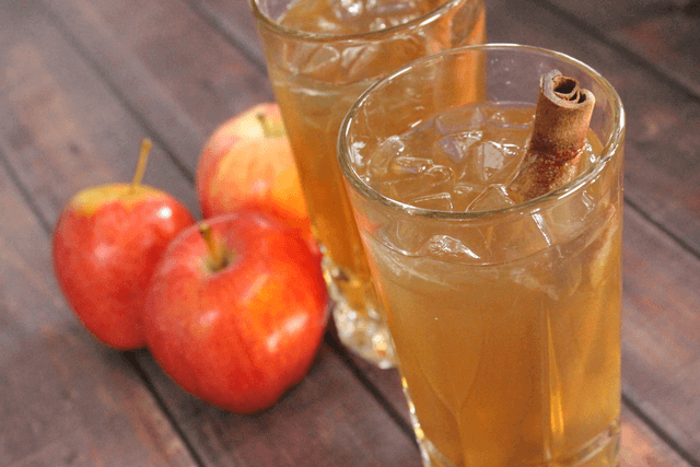 Iced Tea and Apples