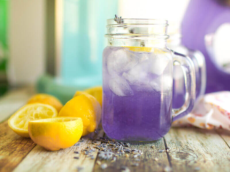 Lavender Coconut Lemonade