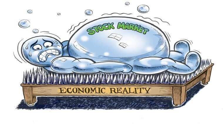 Predicting a stock market bubble