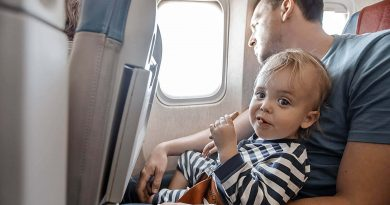 Top 5 Tips for Traveling with an Infant