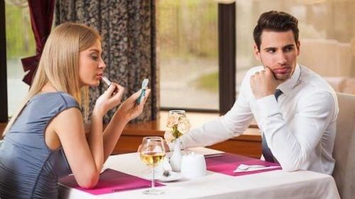First Date Rules - Sit Next to Each Other