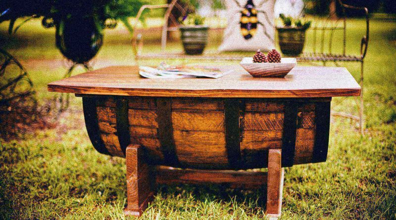 How to Use Wine Barrel Furniture in Your Home