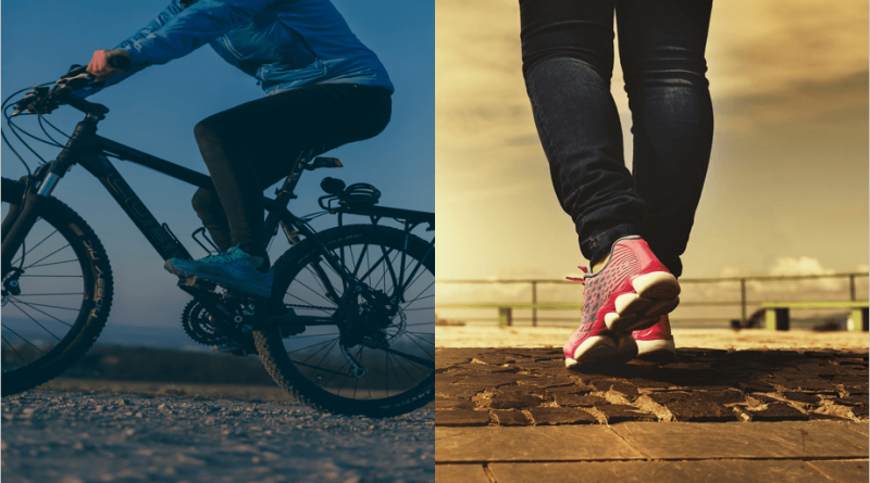 Cycling vs Walking   Which is Best to Lose Weight?