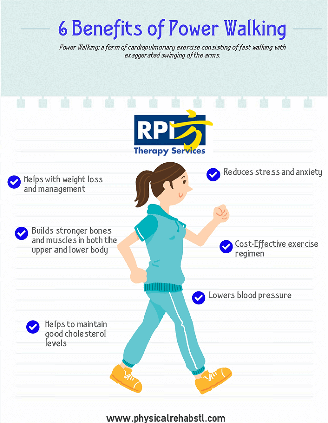 Power walking - benefits of walking vs running