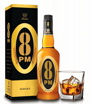 8 PM best whisky in India