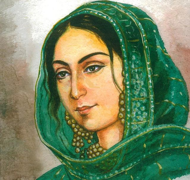 Begum Hazrat Mahal - Indian freedom Fighters