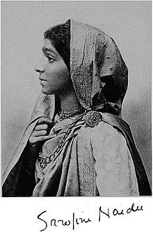 Sarojini Naidu - was an Indian independence activist and poet