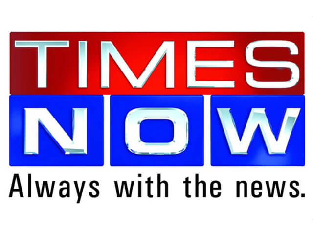 Times Now News Channel top news channels in India by trp