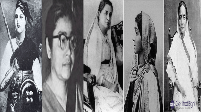Top 10 Women Freedom Fighters of India