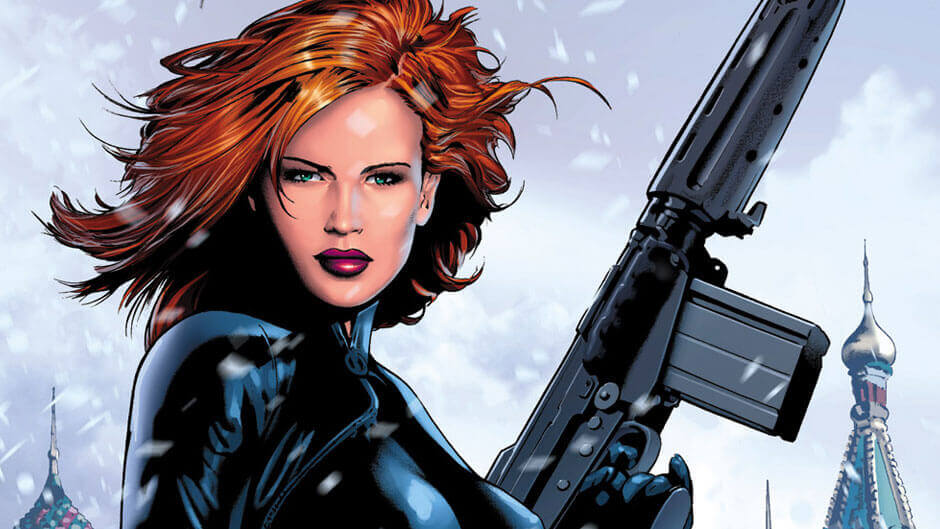Black Widow - popular female superheroes