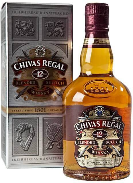Chivas Regal - most popular scotches of the world