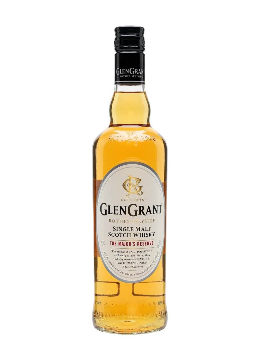 Glen Grant - best scotch whisky brands in India