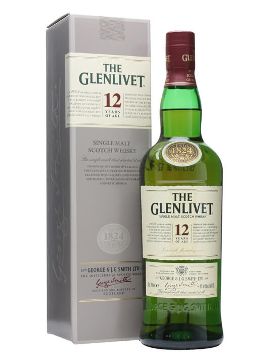 Glenlivet is a scotch whisky with a pineapple note and a lighter style