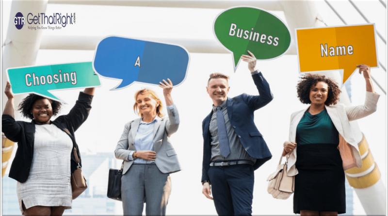 How to Choose a Business Name for Your Company