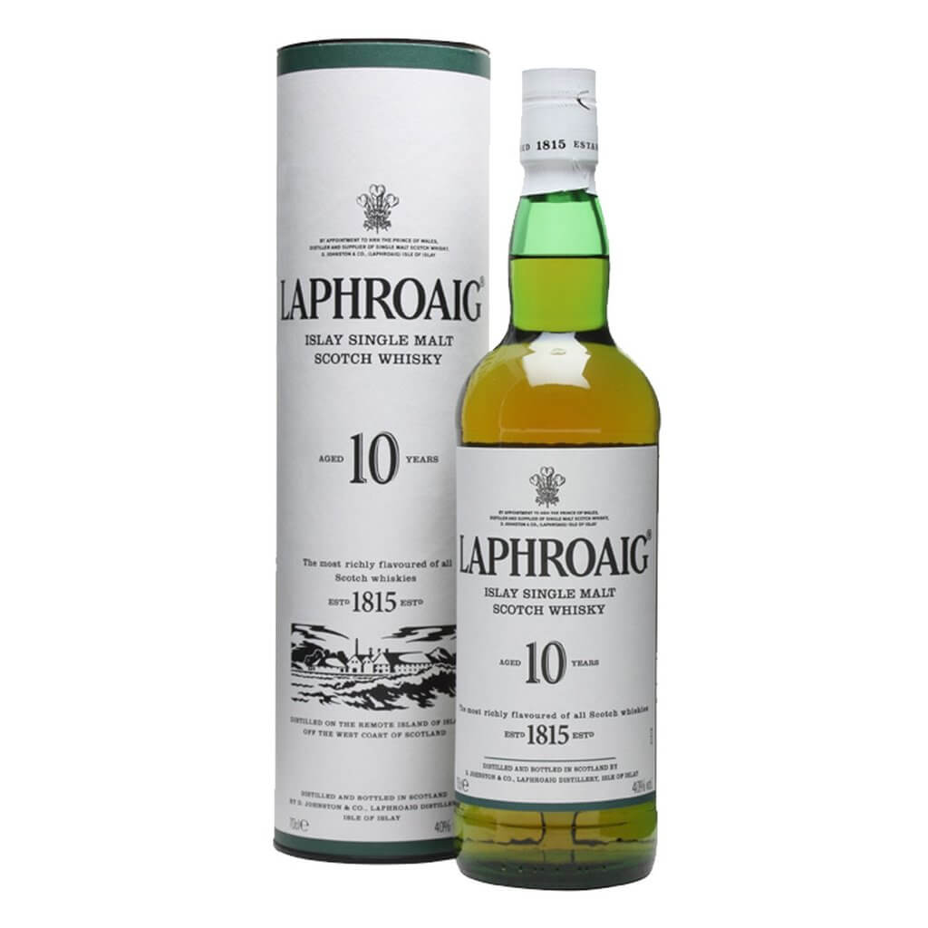 Laphroaig - top 10 scotch whisky brands in India