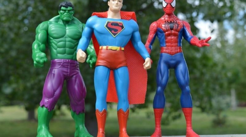 List of 20 Famous and Most Popular Superheroes of All Time