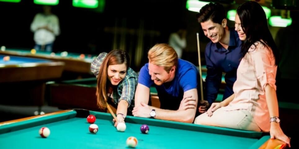 Playing Pool Improves Social Life