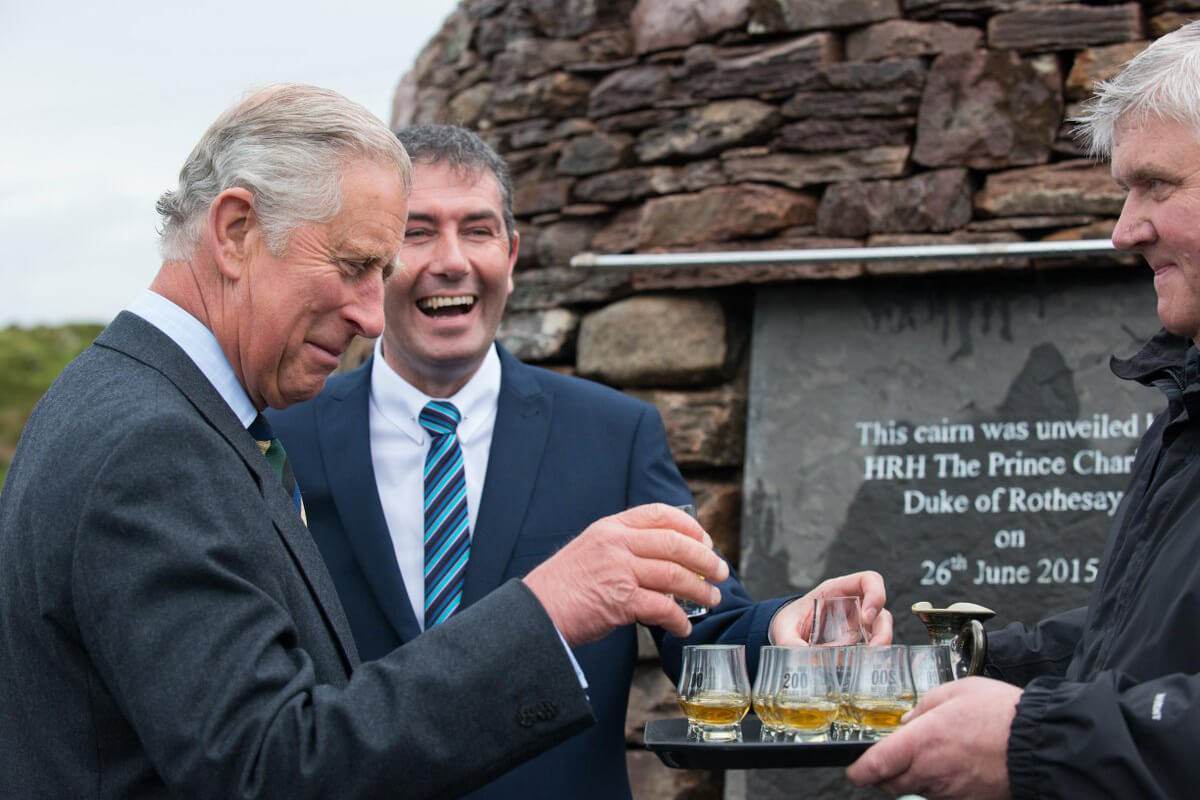 Prince Charles of Wales is a fan of Laphroaig whisky