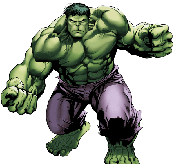 The Hulk - strongest superheroes