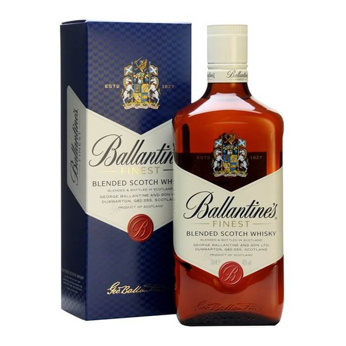 ballantines-finest - premium scotch whisky brand in India