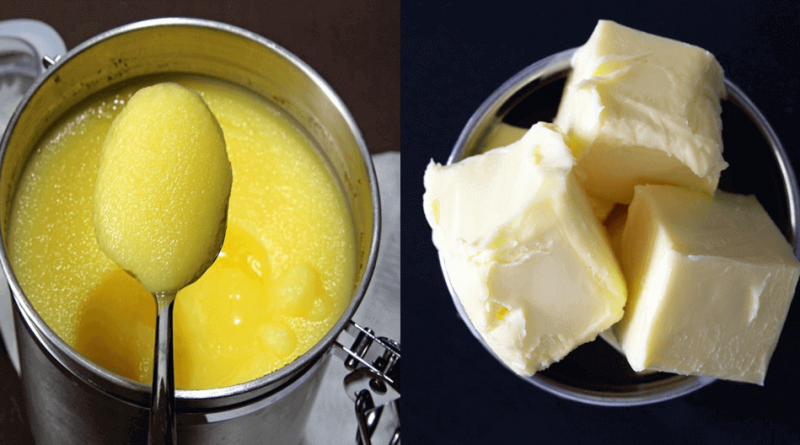 Ghee vs Butter - Healthier Lifestyle