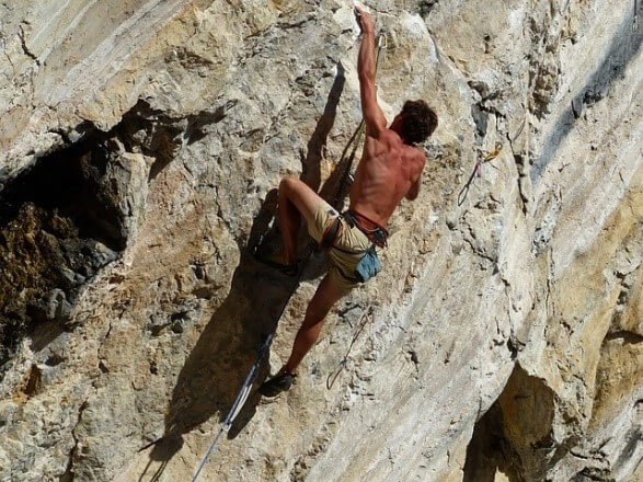 Rock Climbing - most dangerous sports