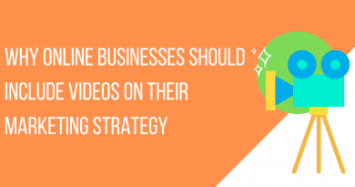 Why Online Businesses Should Include Videos On Their Marketing Strategy